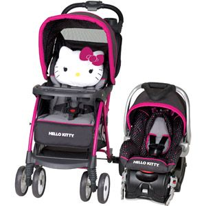 I don't have a baby but if I did I would buy this ......Baby Trend Hello Kitty Venture Travel System