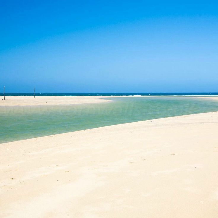 Think this is the Caribbean? Well think again Pinterest Fans! This beautiful beach is in #Hayle #Cornwall. I'm already booked for April 2016. #Travelmadeeasy