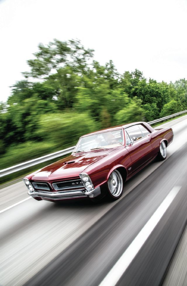 1965 Pontiac Gto On The Road