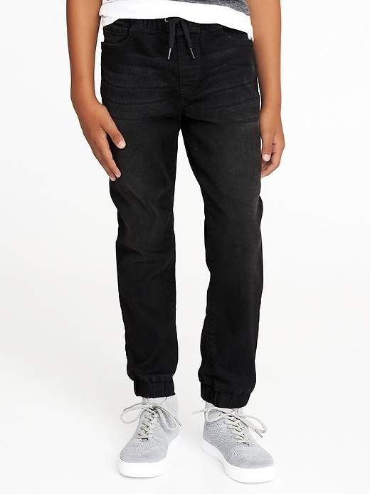 a18766a40 Old Navy Built-In Flex Max Black Jogger Jeans for Boys | Products ...