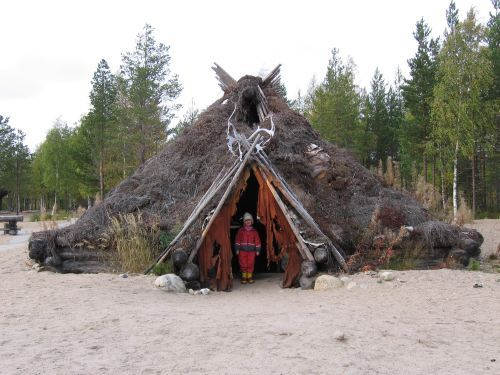 Неолит -зимний дом