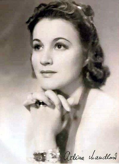 Adina Mandlová - actress (Czechoslovakia)