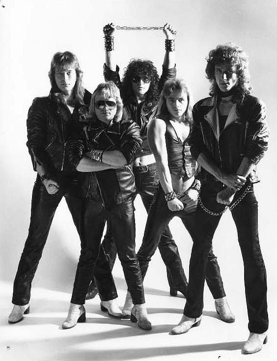 German 1980's heavy metal band, ACCEPT.