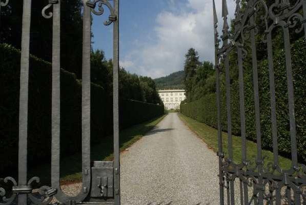 Villa Grabau, Lucca Tuscany.