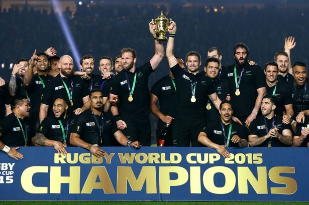 2015 Rugby World Cup Champions