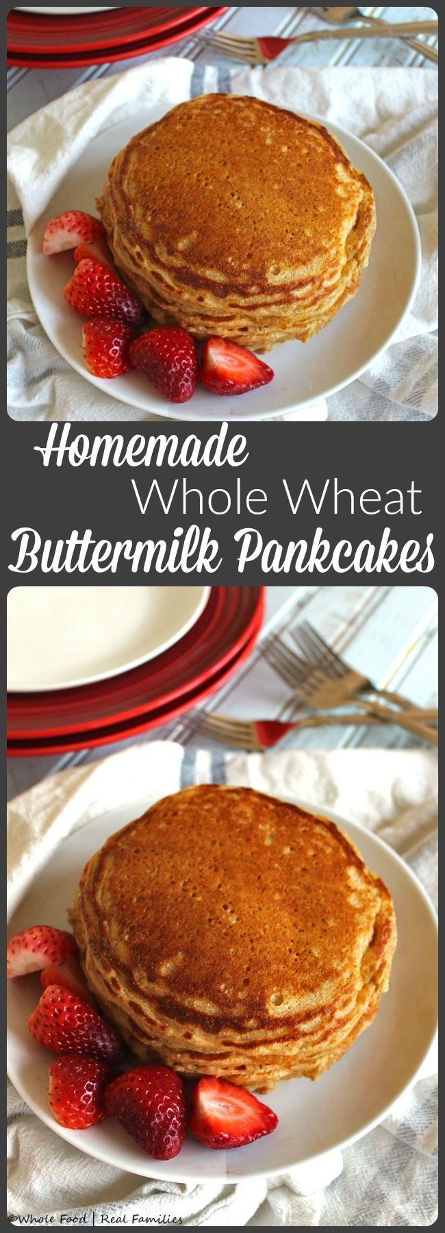 17 Best ideas about Whole Wheat Pancakes on Pinterest ...