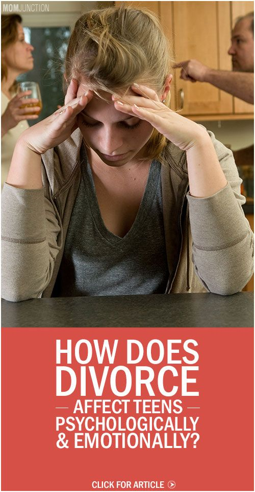 The affect of divorce on adolescents mental health