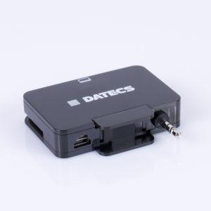 Cititor de carduri magnetice MCR MRD-05. Cu ajutorul cititorului MRD-05 comerciantii pot accepta plata sau carduri de fidelitate oriunde s-ar afla, fiind vorba de un echipament mobil de dimensiuni reduse si foarte usor.
