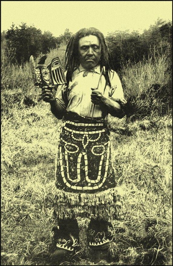 Wrangell Medicine Man, Tlingit, c. 1900. http://en.wikipedia.org/wiki/Tlingit_people