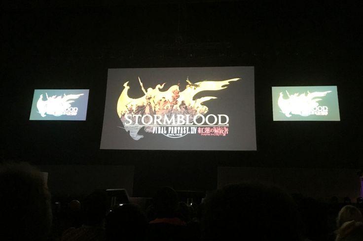 Eventbericht: Final Fantasy XIV Fan Festival 2017 in Frankfurt vom 18. bis 19. Februar 2017 bei dem das neue AddOn Stormblodd im Final Fantasy XIV Onlinespiel vorgestellt wurde.