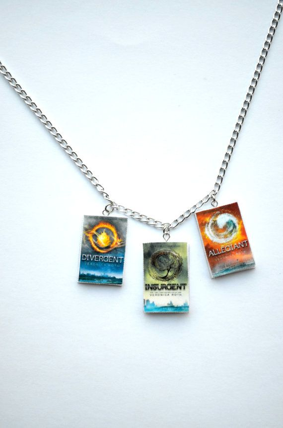Divergent Book Series Necklace by SpearCraft on ArtFire.com , $9.00
