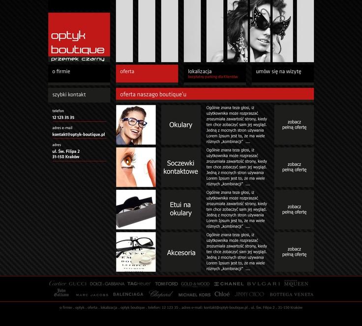 optyk boutique website - v1