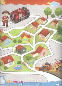 Preschool Free Printable Mazes