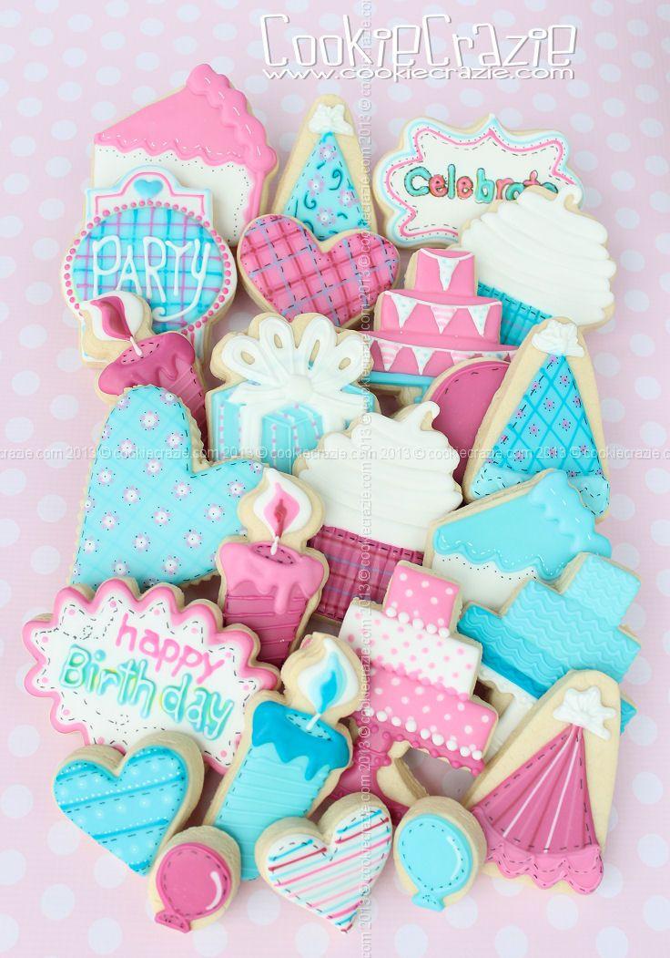 CookieCrazie: Happy Birthday Cookie Collection