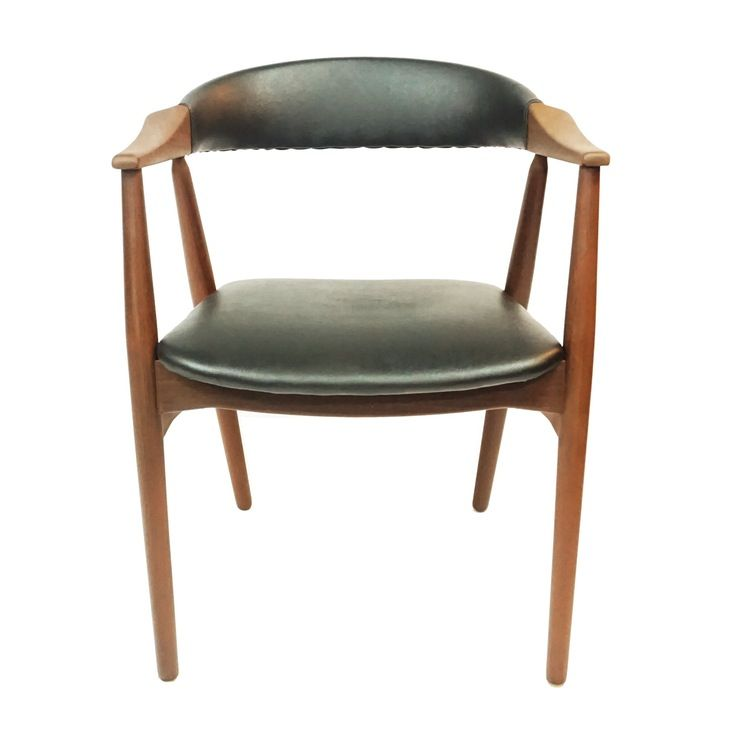 4 Danish refurbished Farstrup Chairs #213 from1958 —
