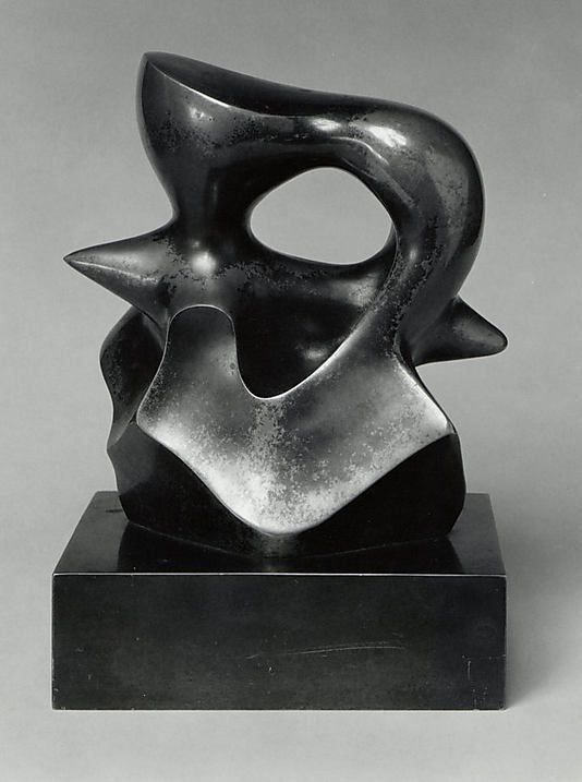 Henry Moore  (British, Castleford 1898–1986 Much Hadham) | Maquette: Spindle Piece | 1968