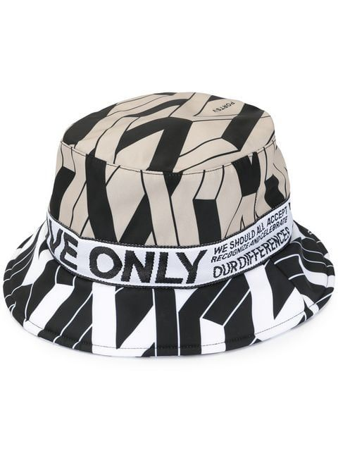 f556723e9fd48a Ports V Logo Print Bucket Hat in 2019 | 20_Cap Trend | Hats, Bucket ...
