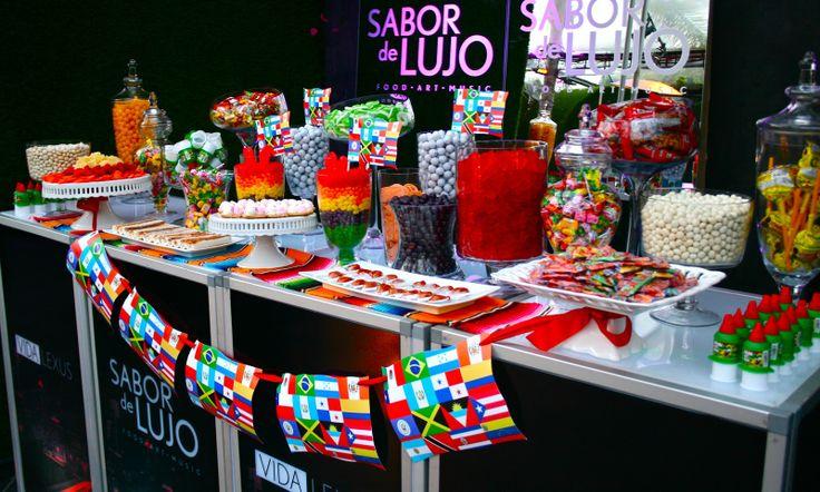 MEXICAN CANDY BUFFET | Lexus Presents: Sabor De Lujo! Our ...