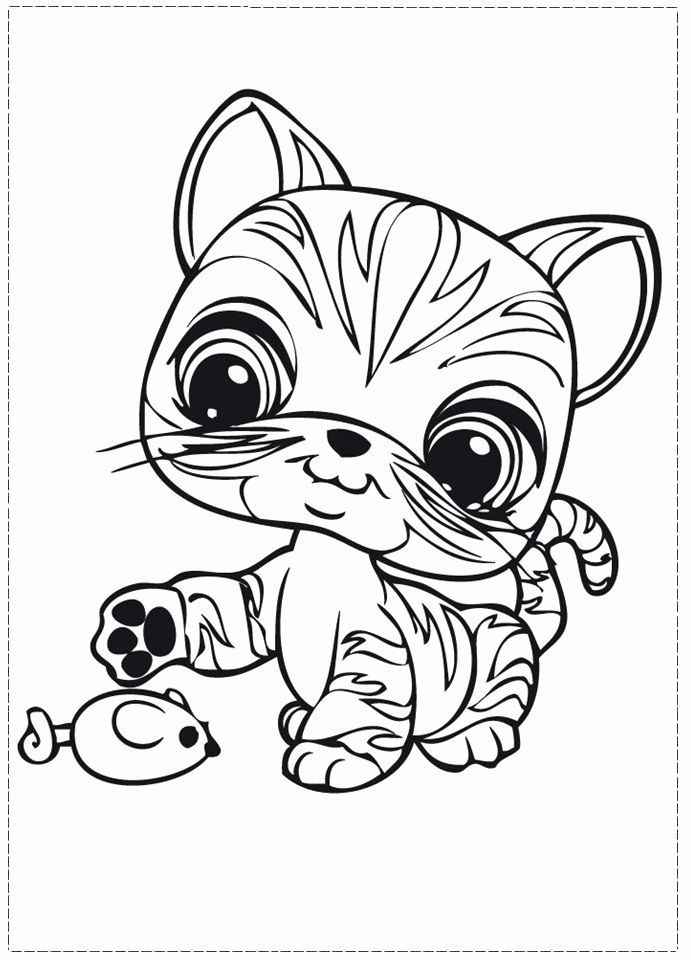 Free Printable Pet Shop Coloring Pages Best Of Littlest Pet Shop Coloring Pages For Free 11 Cat Coloring Page Little Pet Shop Mandala Coloring Pages