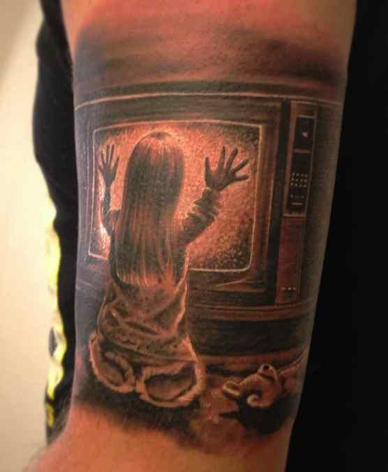 Horror Movie Tattoos Tattoos: 17 Best Images About Awesome Horror Tattoos On Pinterest