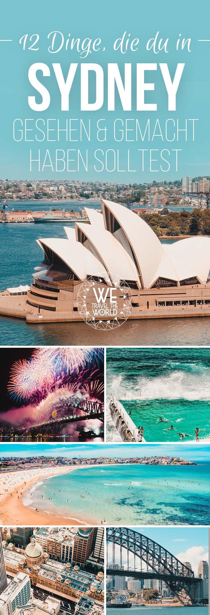 Australien Reise: Ein Tag in Sydney. Die 12 besten Sydney Sehenswürdigkeiten, Reisetipps, Highlights, Insidertipps und Must Sees die du besichtigt und gemacht haben solltest. #sydney #reisetipps