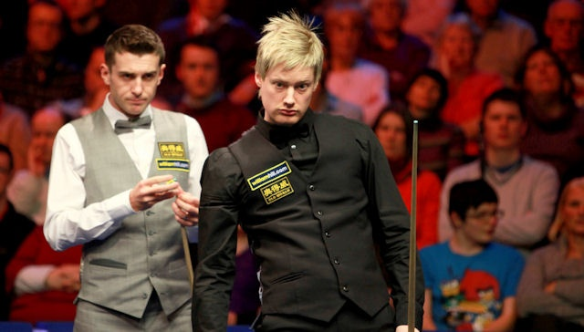Mark Selby, neil robertson, uk champ's 2010 quarterfinal
