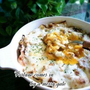 糖質制限低糖質★キャベツと半熟卵の♡チーズ焼き♡ レシピ・作り方 by marumaruplump|楽天レシピ