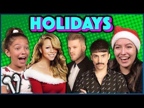 Our Favorite Christmas Music Ft Justin Bieber Mariah Carey Pentatonix Sharing Buds Youtube