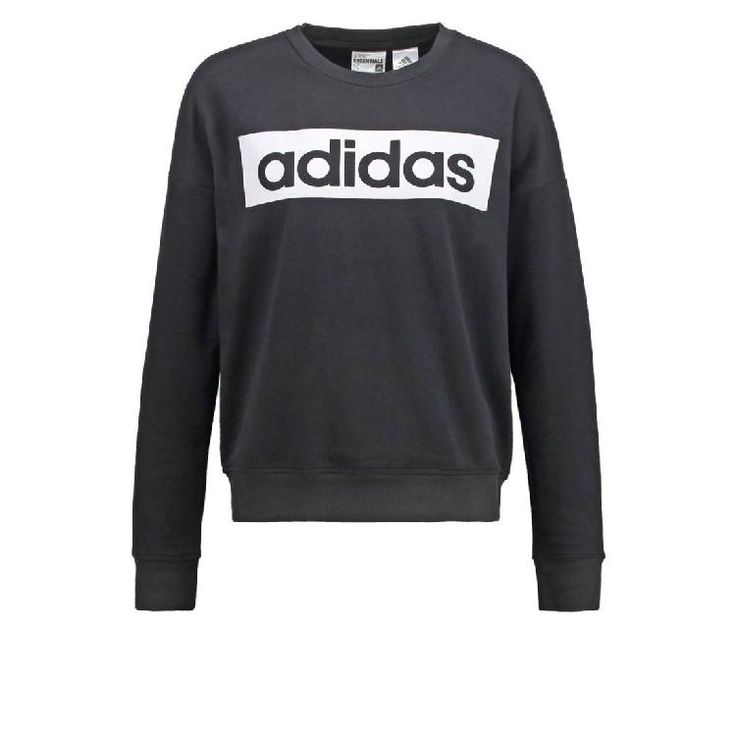 ESSENTIALS - Sweatshirt - black/white by adidas Performance