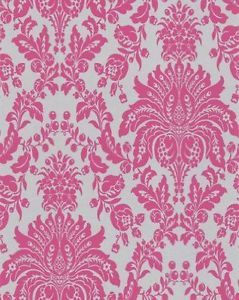 Graham and Brown Graham and Brown 17154 Elizabeth Wallpaper, Pink - NEW