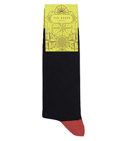 TED BAKER Alando Organic Cotton Socks. #tedbaker #cloth #underwear & socks