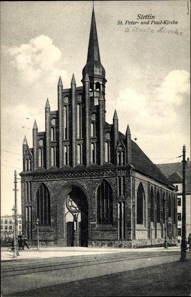 St. Peter und Paul Kirche Stettin