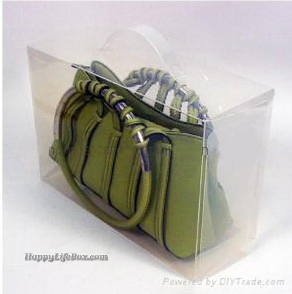 Clear Handbag Storage Box
