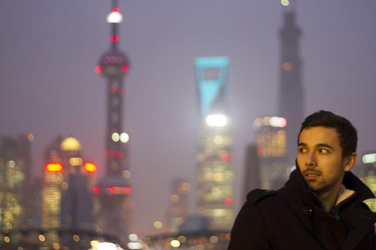 Shanghai skyline, China.