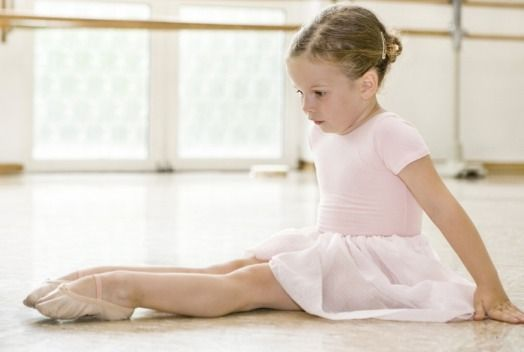 Developing that foot arch at a young age!