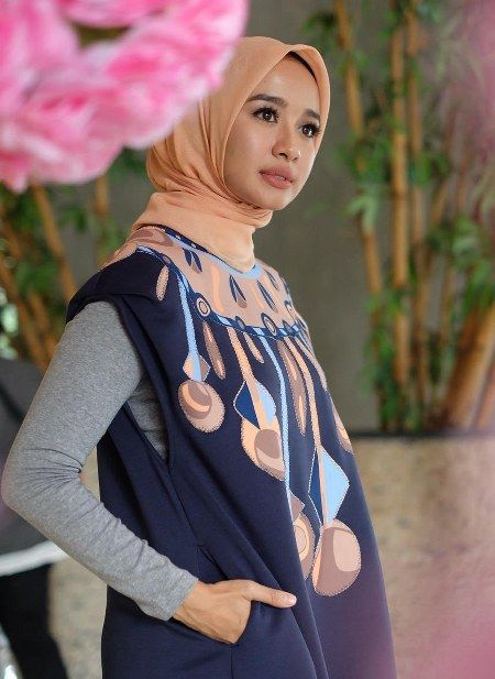 Inspirasi Dari Busana Hijab Laudya Cynthia Bella Model Baju Pinterest Hijab Fashion