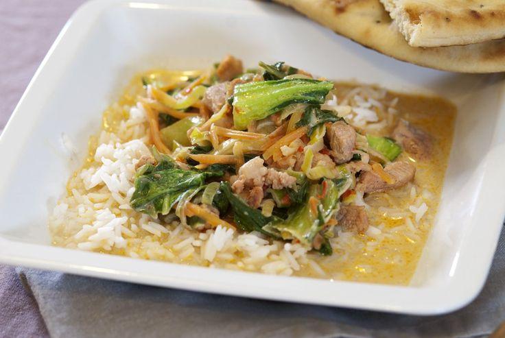 Det tar litt tid å gjøre klar alle ingrediensene til en wok, men når alt
