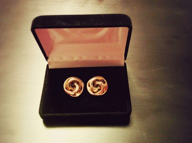 Mobius Cufflinks by FLAMBEE