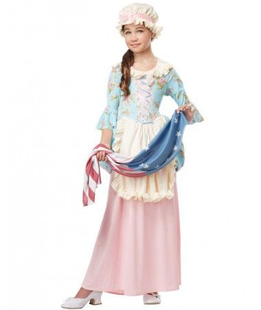 Colonial Lady Girls Costume | AUSTRALIAN COLONIAL