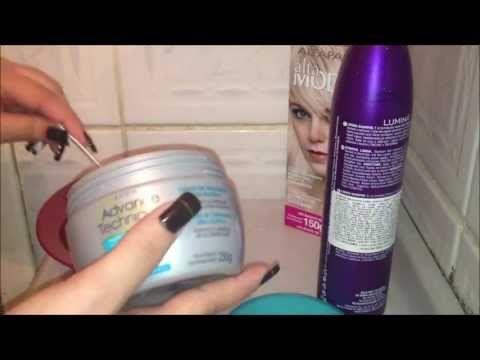 Como matizar o cabelo - Por Andressa Silva - YouTube