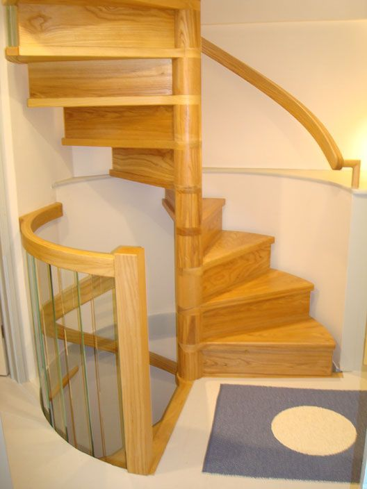 Tiny House Spiral Staircase