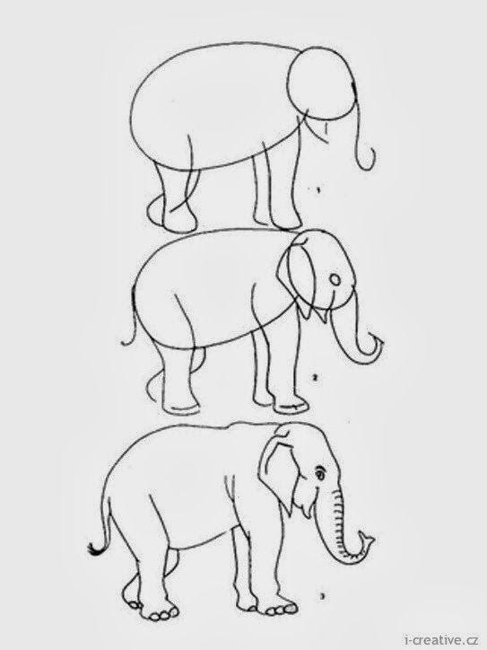 He hecho una recopilación de dibujos para niños que se hacen en como máximo 8 pasos. Si pinchas sobre cada imagen se hará más grande y lo ve...
