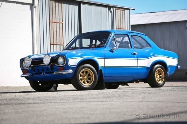 Think of it as a 69 Camaro for blokes. Its the Ford Escort RS1600: a simple little car shoved full of the best engine Ford and Cosworth could devise. Its England's half-pint muscle car, but its not that muscular. And it has a flying, memorable turn in Fast & Furious 6 with Brian OConner (Paul Walker) at the wheel.