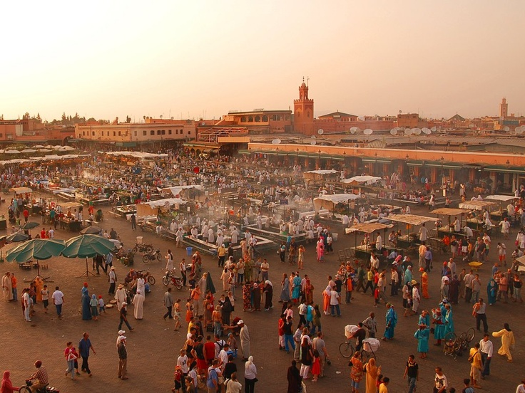 Marrakech and its Great Zoco!