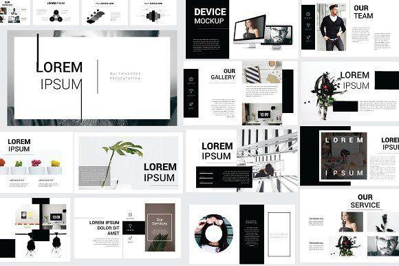 Lorem Ipsum Keynote Template by Rits Studio on @creativemarket