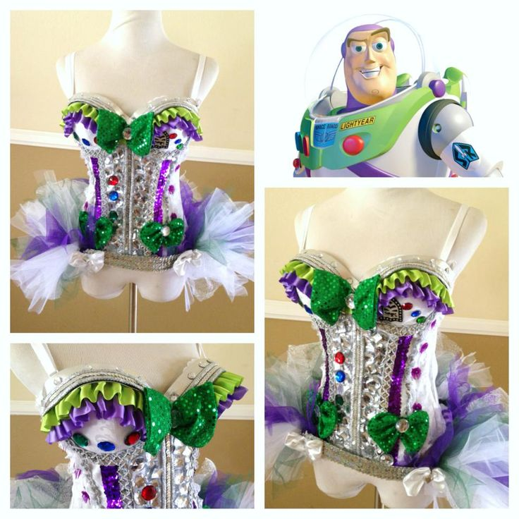 [ • Buzz Lightyear - rave fashion - by Electric Laundry • ]