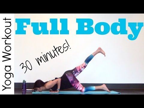 30 minute Full Body - Power Yoga Workout - YouTube