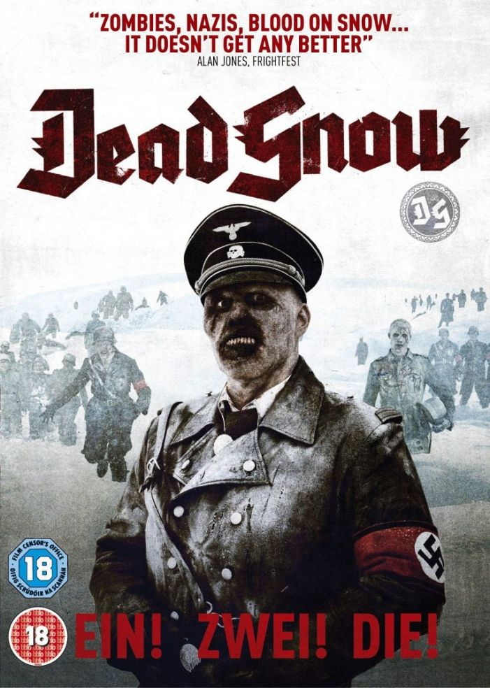 Dead-Snow-Nazi zombie movie - http://johnrieber.com/2014/10/07/nazi-zombies-dead-snow-2-the-five-wildest-zombie-movies-ever/