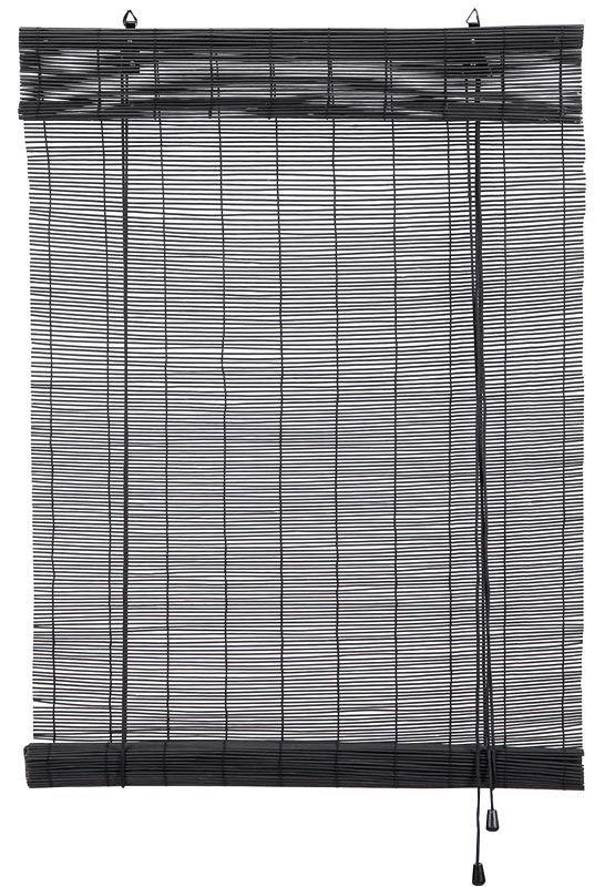 Rolgordijn+bamboe, leenbakker, voor privacy of beschutting