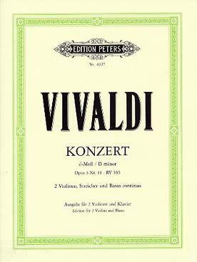 Antonio VIVALDI Concerto en Ré mineur op.3 n°11 RV 565